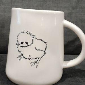 Rae Dunn double sided PEEP PEEP mug
